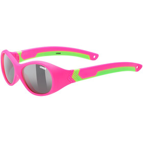 UVEX Sportstyle 510 Glasses Kids, pink green/smoke
